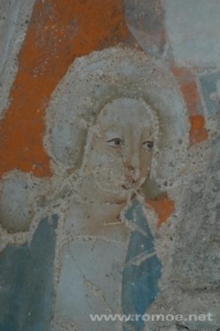 Freigelegte Wandmalerei
