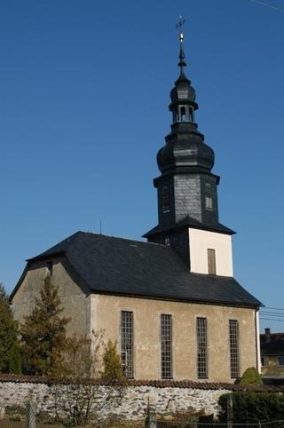 Kirche Gertewitz, Außenansicht der Kirche