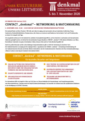Kooperationsevent CONTACT - Factsheet Deutsch