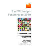 Bad Wildunger Fenstertage
