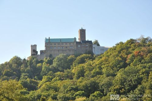 UNESCO World Cultural Heritage - The Wartburg near Eisenach in Thuringia