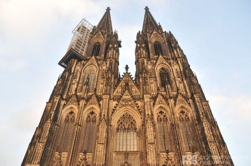 Stone Restoration at Cologne Cathedral, Germany
