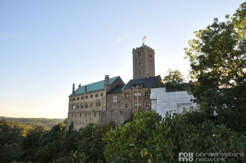 Wartburg Castle in Eisenach, Thuringia, Germany
