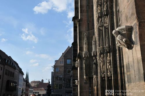 Preventive Conservation - Protection from Pigeons at the Lorenz Church in Nuremberg, Germany