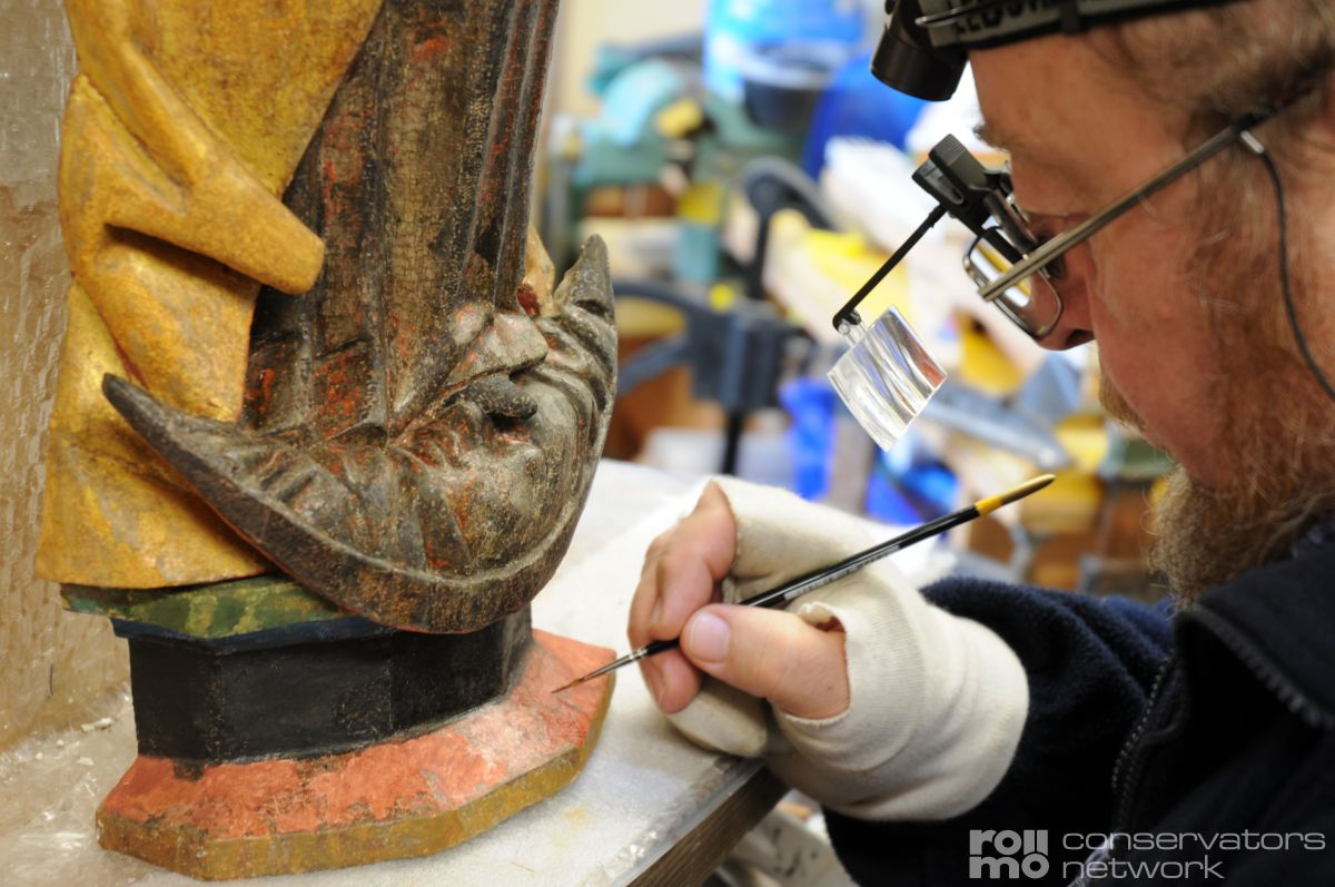 Restoration of cultural heritage - the working methods of restorers