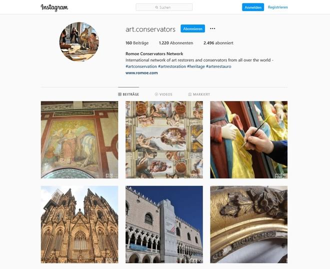 Romoe Instagram Profil