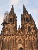 Die Arbeiten am Kölner Dom